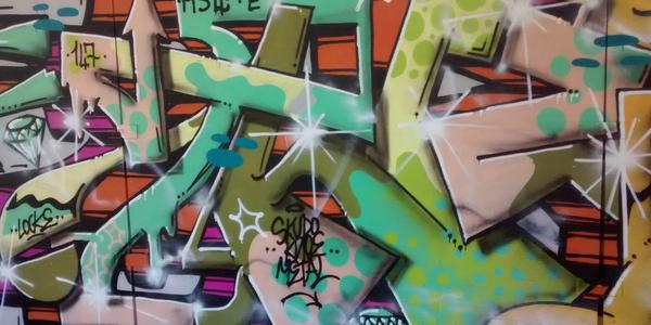 Graffitiwand 1